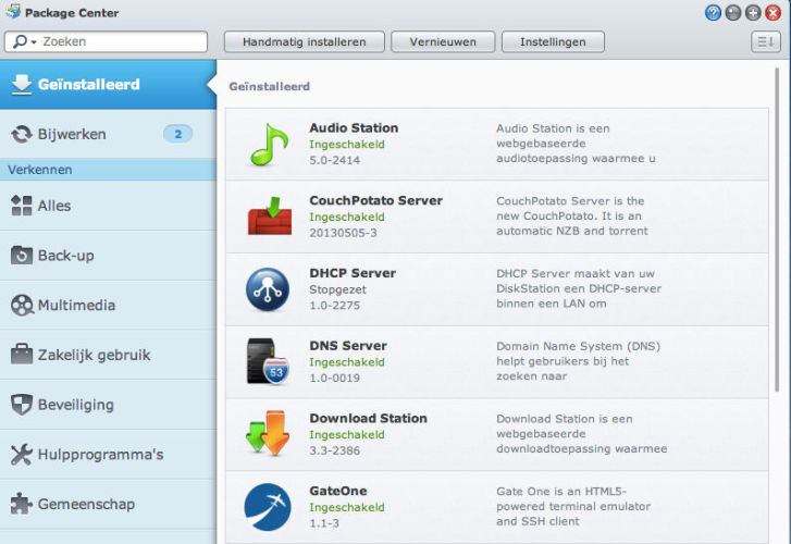 Couchpotato Synology