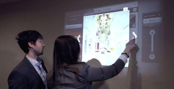 Verander een oppervlak in een touchscreen met Ubi's Kinect app