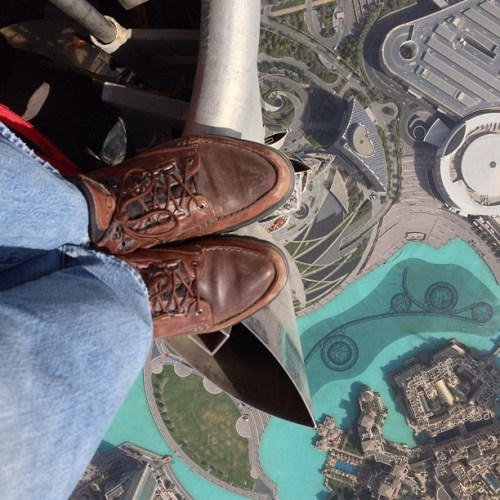 Burj Khalifa door @Jomcnallyphoto
