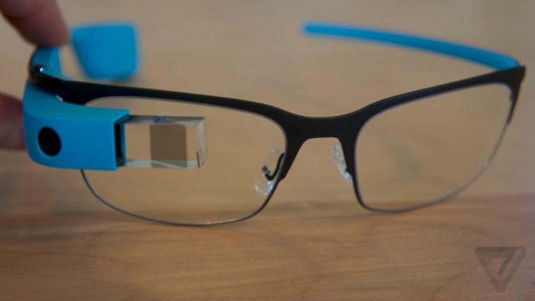 Google Glass monturen voor glazen op scherpte 05