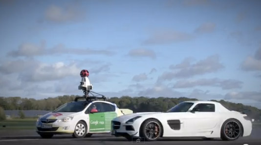 google street view top gear test track