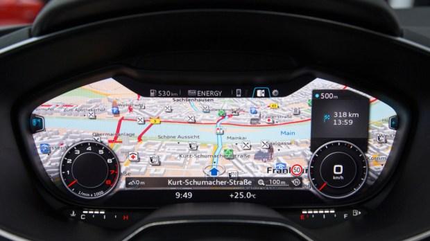 Audi Virtuele Cockpit TT 01