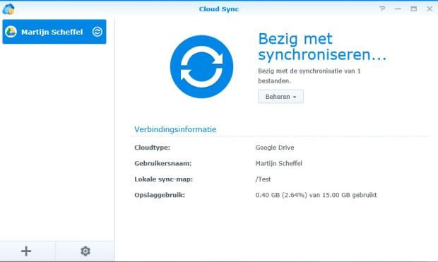 Synology Cloud Sync 07