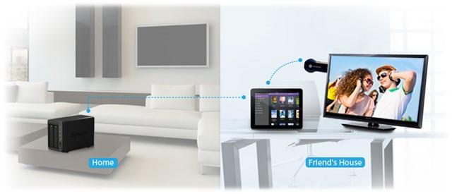 Google Chromecast ondersteuning in DS Video