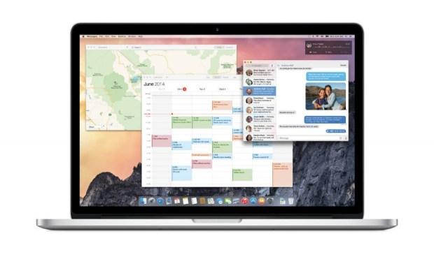 OS X Yosemite UI