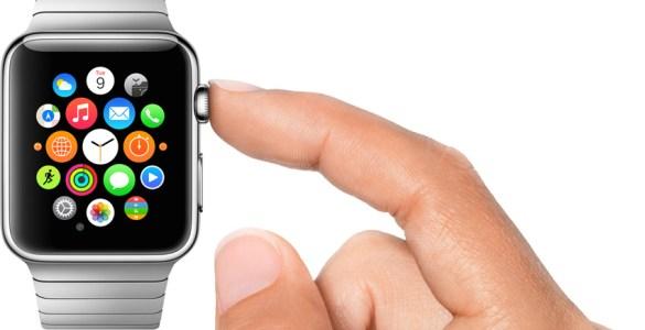 Apple Watch kroon bediening
