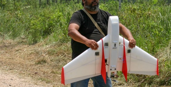 Drone ingezet tegen illegale hout-kap in Peru