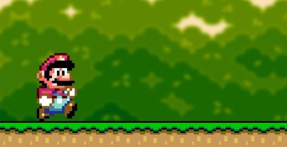Super Mario retro