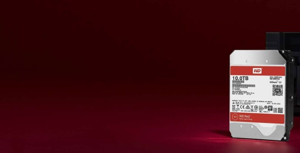 WD Red 10TB schijven