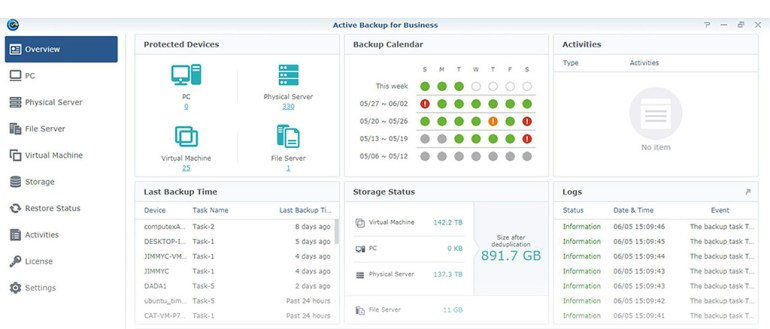 Synology Backup Suite
