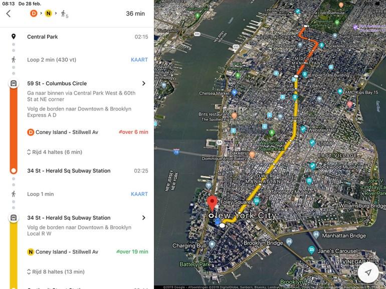 Google Maps New York