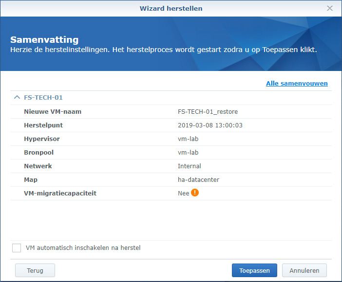 Synology Active Backup Restore 09