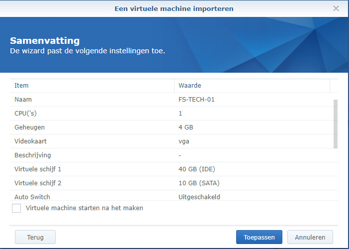 Synology Active Backup Restore 19