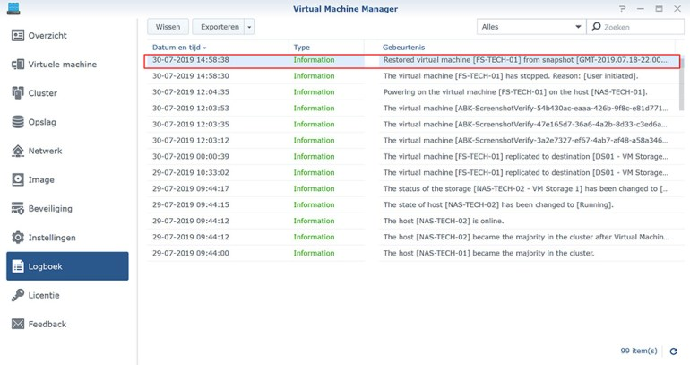 Synology VMM Snapshot replication Herstellen04
