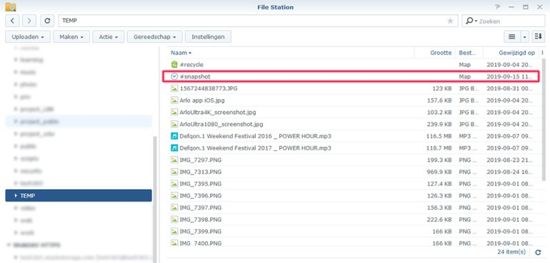 Synology Snapshot Replication 08