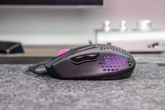 MM720 gaming muis extra knoppen
