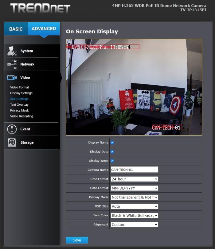 TRENDnet TV-IP1315PI - 14