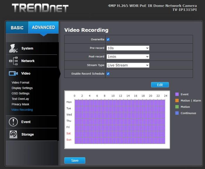 TRENDnet TV-IP1315PI - 17