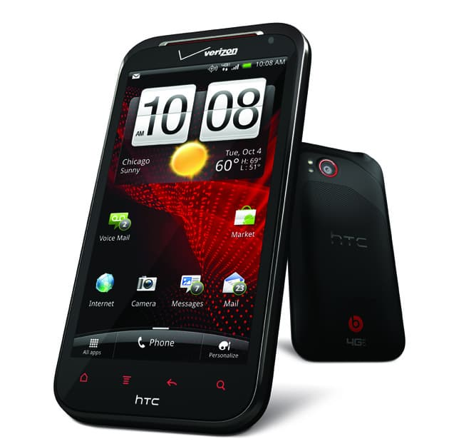HTC Rezound stands top in the list of best smart phones!
