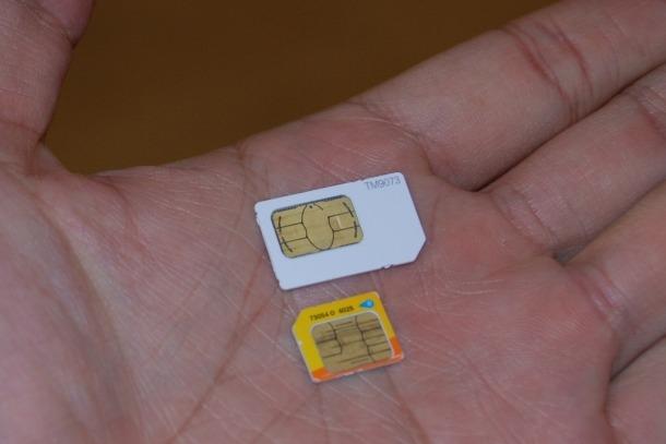The all new efficient Nano SIM card!