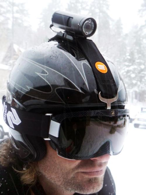 A Helmet Cam to Enable Capturing Great Skiing Moments!