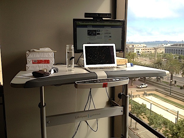 The New Treadmill Desk to Make Life Easier in Your Office!
