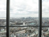The view from the top of the BT Tower