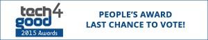 Tech4Good People's Award 2015