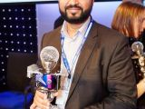 Syed Abrar, BuddyApp with their Award