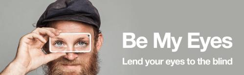 Be My Eyes Brand image