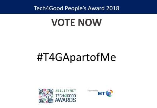 Apart of Me, Digital Health Award Finalists