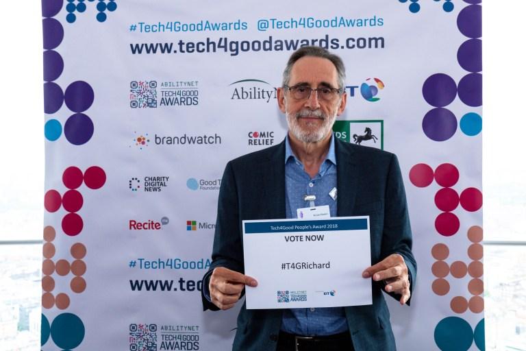 Richard Rankin, Digital Volunteer of the Year Award Finalist