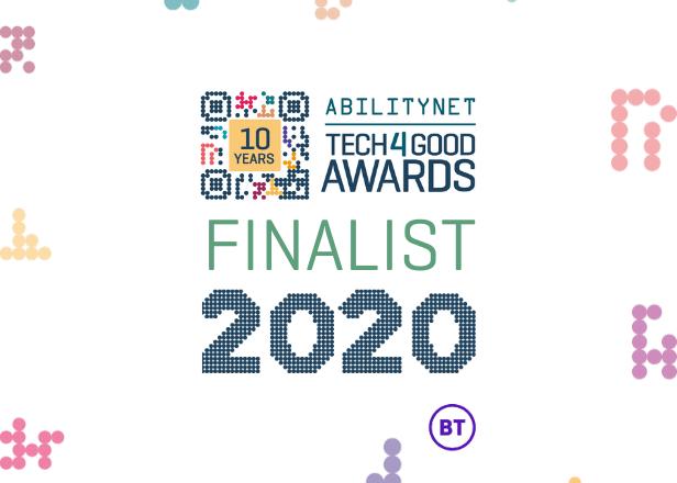 T4G Finalist 2020 logo