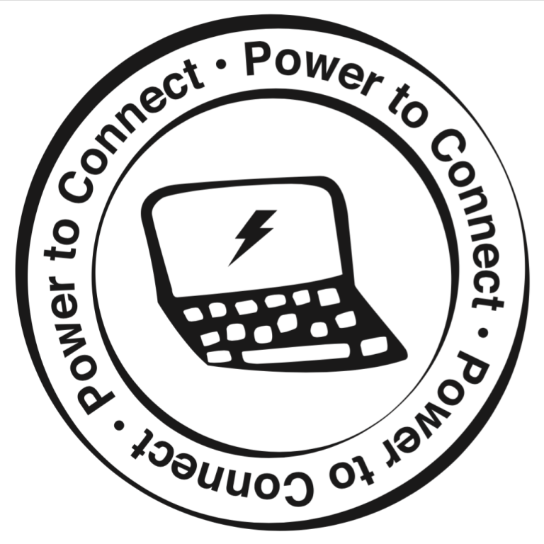 Power to connect logo