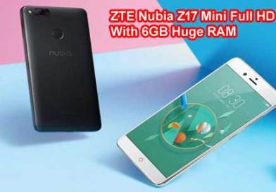 Latest ZTE Nubia Z17 Mini Full HD With 6GB Huge RAM