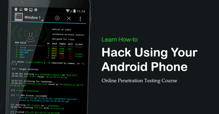 How to Hack an Android Phone with another Android