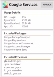 google services-better battery life