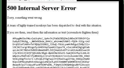500 internal server error kya hai