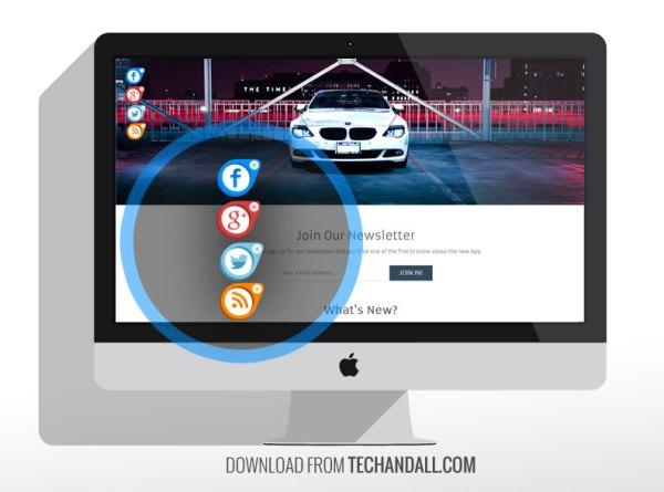 CSS Floating Button Menu – Tech & ALL