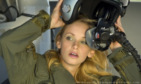 Sexy Special Women of Air Forces Female Fighter Pilots
