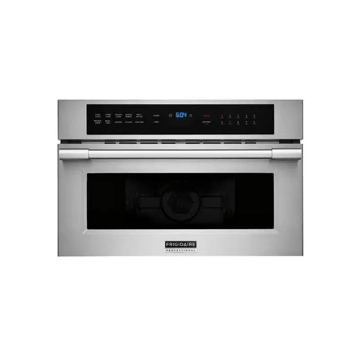 frigidaire professional 30 built in convection microwave oven with drop down door