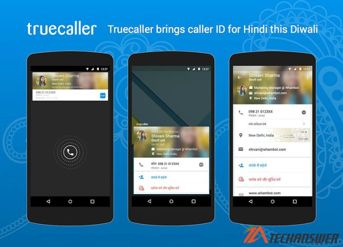 Truecaller Brings Hindi Caller ID On Diwali