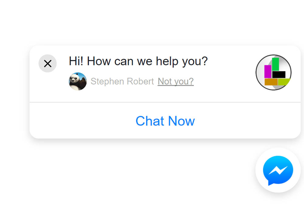 Three Simple Steps -- How to add Facebook Messenger chatbots to your website