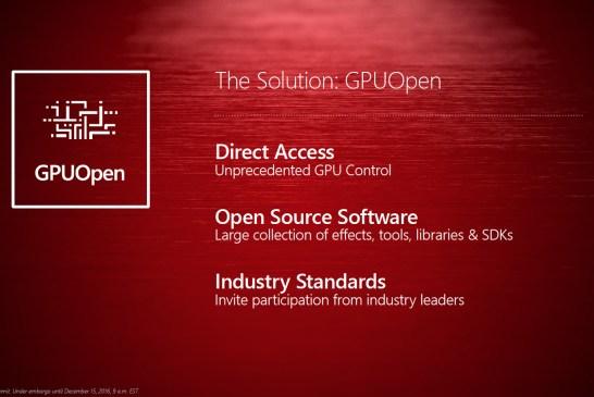 AMD GPUOpen Initiative