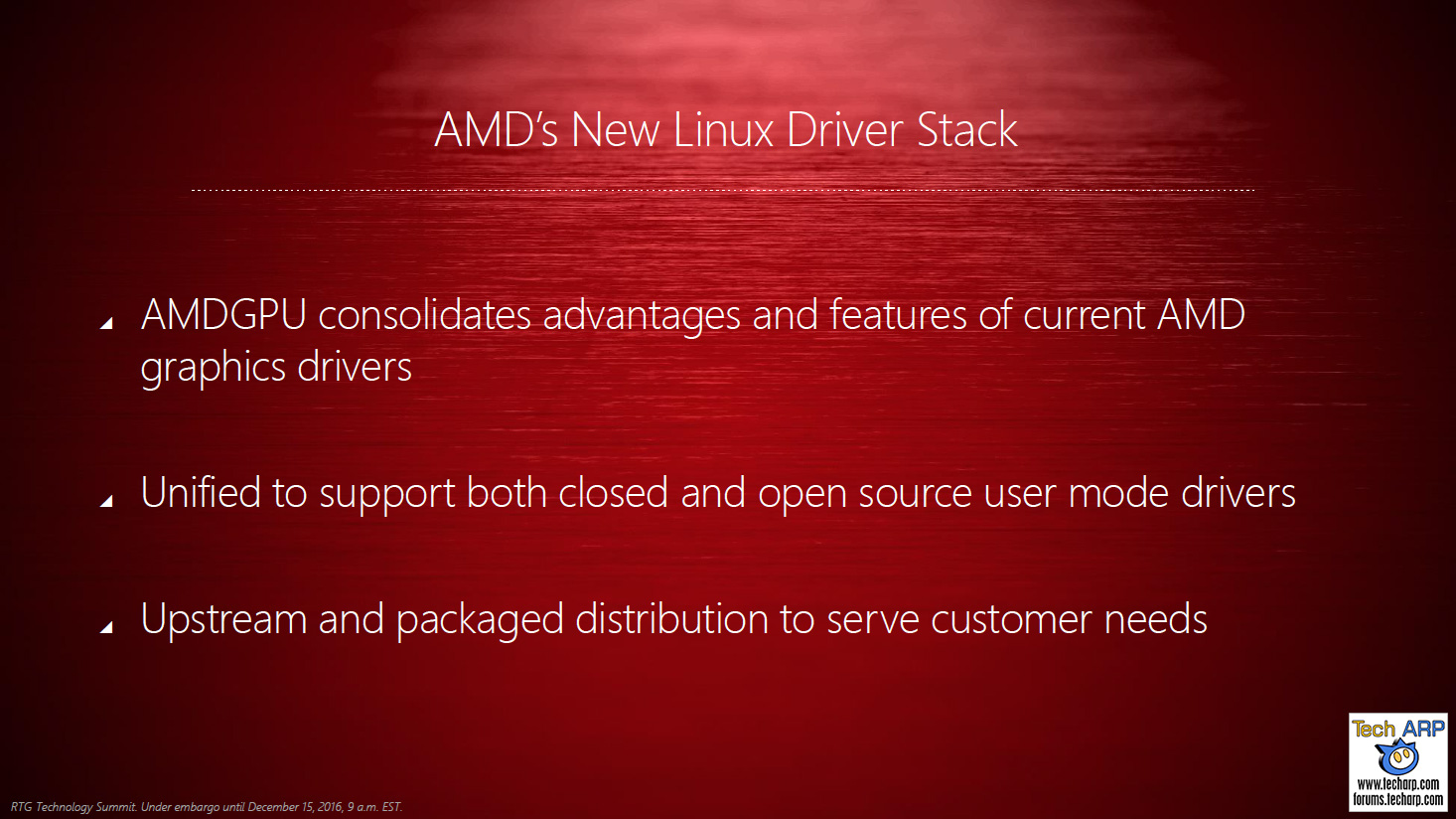 AMD Linux open source driver