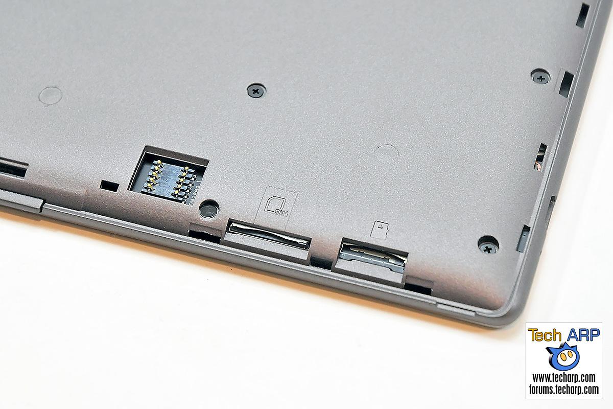 ASUS ZenPad 7.0 (Z370CG) Tablet - micro SIM and micro SD slots