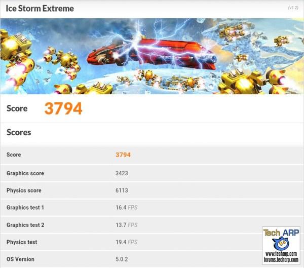 ASUS ZenPad 7.0 (Z370CG) 3DMark Results
