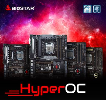 BIOSTAR HyperOC Technology for Non-K Overclocking