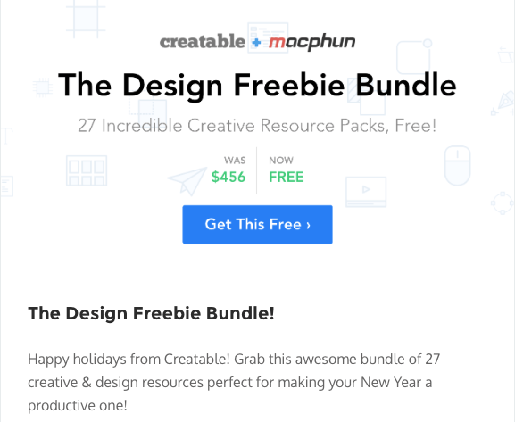 Creatable + MacPhun Design Freebie Bundle