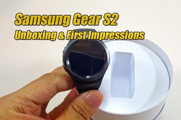 Samsung Gear S2 - Unboxing & First Impressions